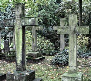Кладбище и могила